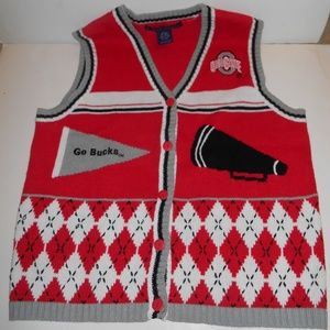 Birch Bros. Ohio State Buckeyes Womens Vest